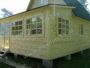 Каркасный дом 6х9 с обшивкой вагонкой