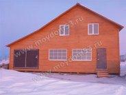 Каркасный дом 9х12 метров