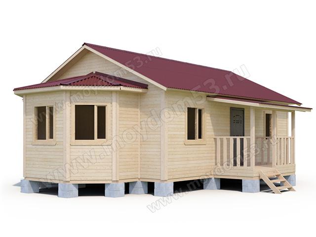 Дом у озера - Проекты домов во Владивостоке