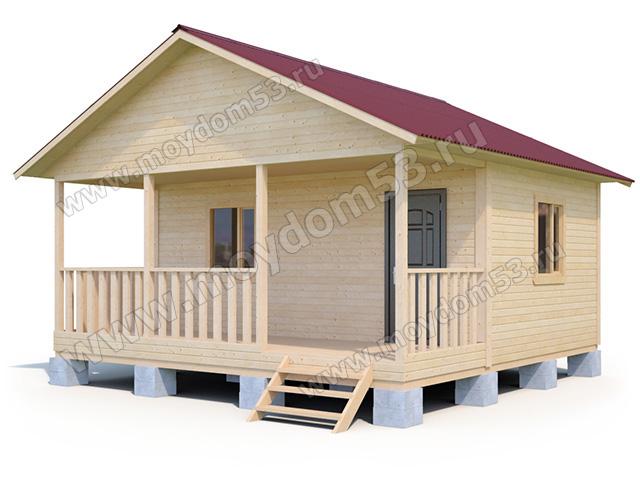 Проекты домов и коттеджей из бруса, сруба —